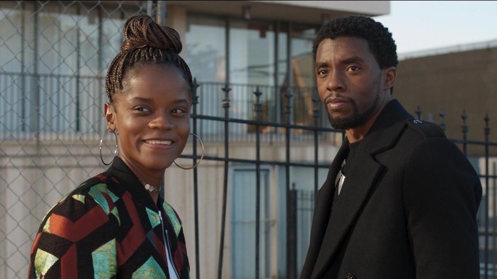 Letitia Wright wrote a poem honoring Chadwick Boseman, her 'Black Panther' co-star.