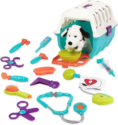 Battat Dalmatian Vet Kit (15 Pieces)