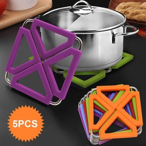 RELIANCER Expandable Hot Pot Holders (5-Pack)
