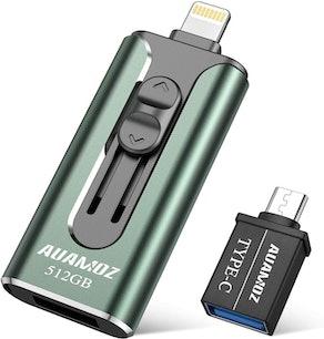 AUAMOZ iPhone Flash Drive