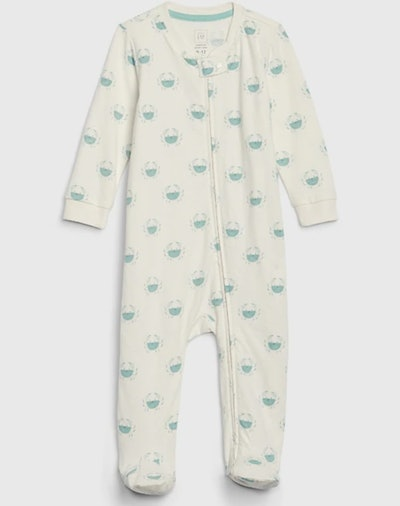 Baby Organic Footed One-Piece