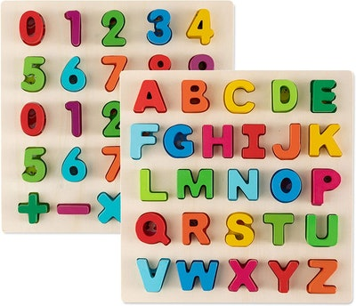 Toy To Enjoy Alphabet Puzzles (2-Pack)