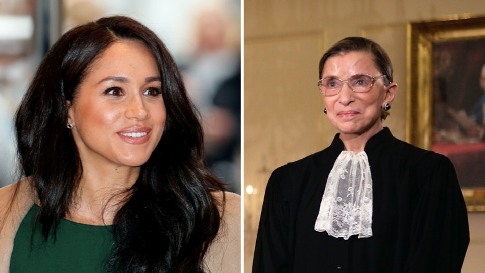 "Meghan Markle, the Duchess of Sussex, cited Ruth Bader Ginsburg as a ""true inspiration"" in a statement following her death over the weekend."