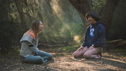 Anna Konkle and Maya Erskine in Season 2 of PEN15 on Hulu.