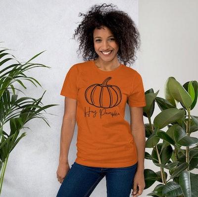 Hey Pumpkin Shirt