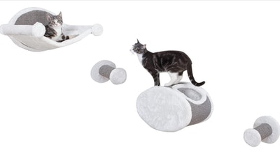 Trixie Pet Products Wall-Mounted Cat Lounging Set (4-Piece Set)