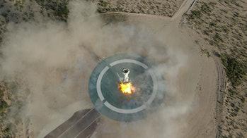 Blue Origin's New Shepard.