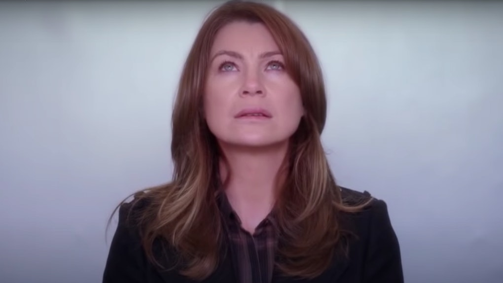 Meredith Grey (Ellen Pompeo) on 'Grey's Anatomy'