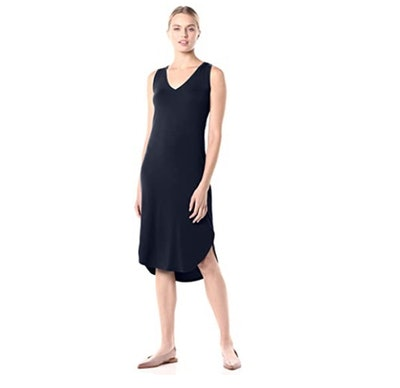 Daily Ritual V-Neck Midi Dress