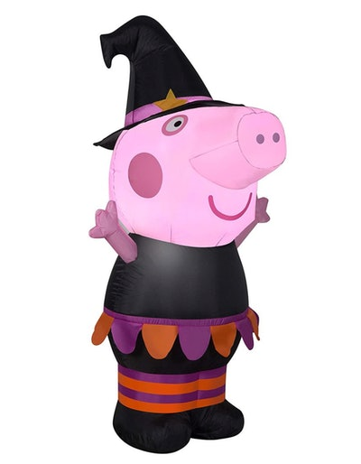 3.5' Airblown Inflatable Halloween Peppa Pig