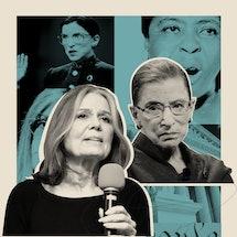 Gloria Steinem and Ruth Bader Ginsburg