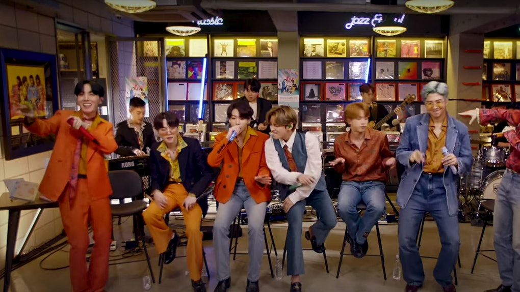 BTS' Tiny Desk concert on NPR