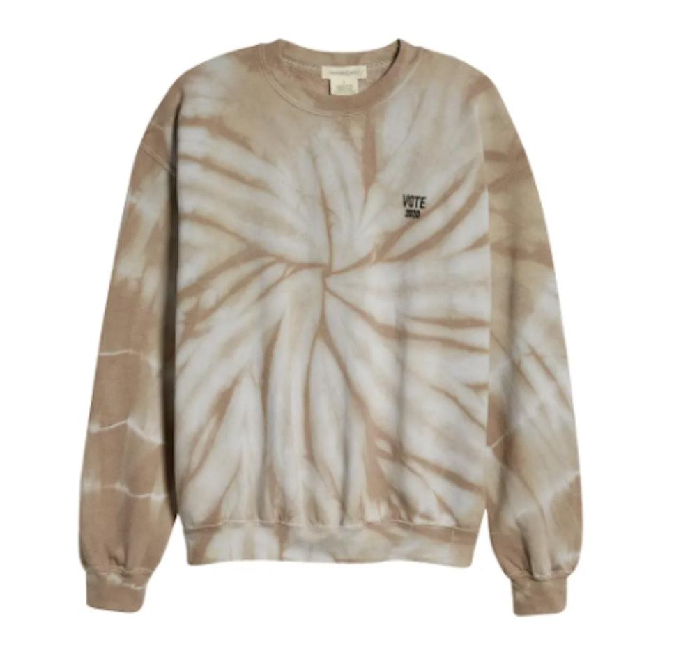 Tie Dye Vote Sweatshirt