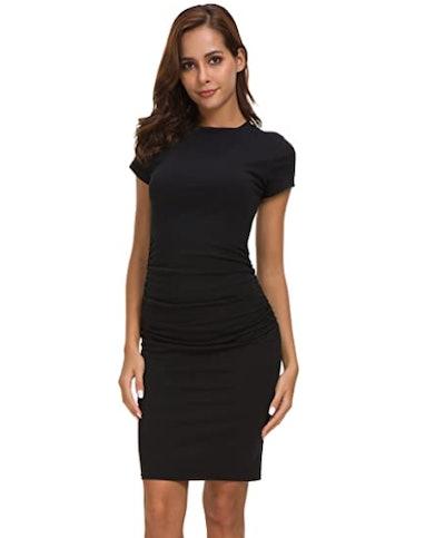 Missufe Midi Bodycon Dress