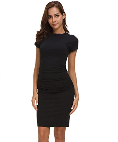 Missufe Midi Bodycon Dress