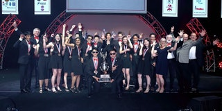 The Troy Science Olympiad team at the 2019 Nationals.