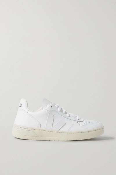 V-10 Leather Sneakers