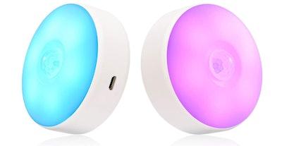SingHong Motion Sensor LED Night Light (2-Pack)