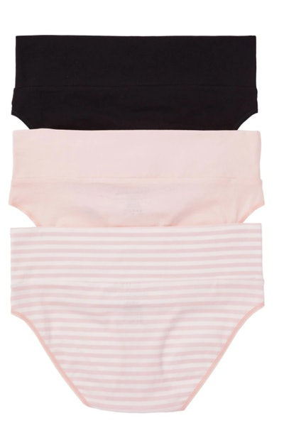 Maternity Fold Over Panties 3-Pack