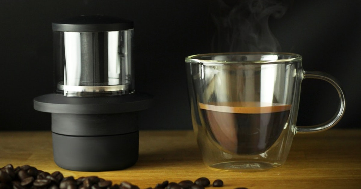 CoffeeJack is a tiny, eco-friendly, coffeemaker you can take anywhere