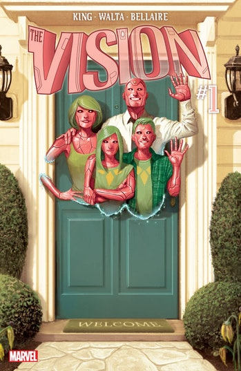 The Vision 2016 comics