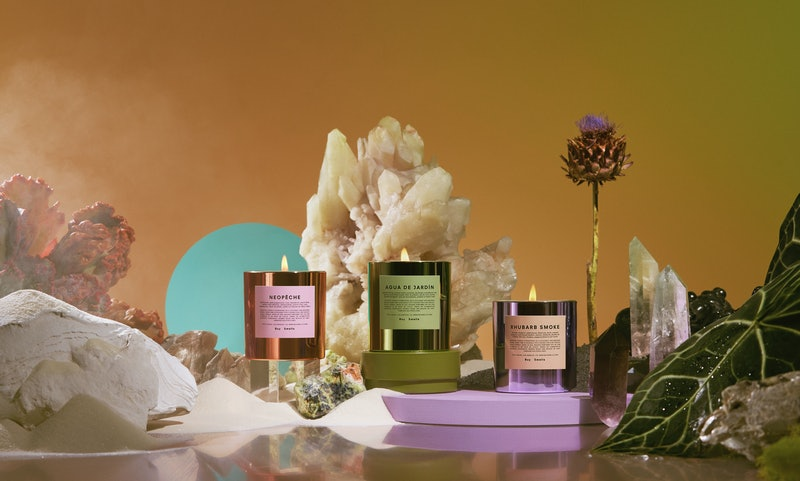 Boy Smells' fall 2020 Hypernature collection presents conventional candle scents in a unique way