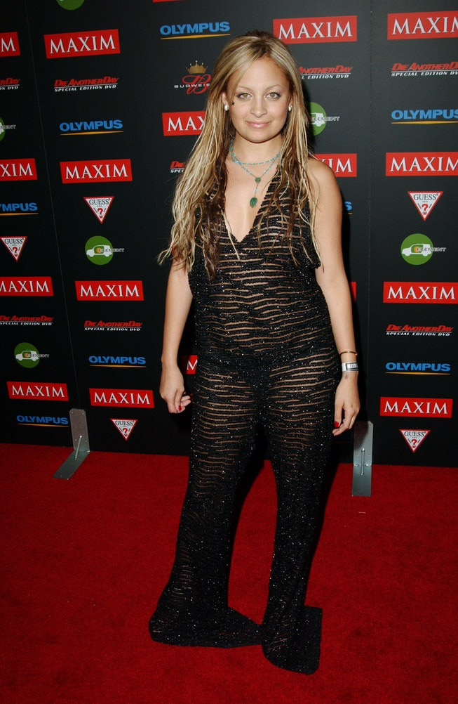 Nicole Richie at the 2003 Maxim Hot 11 party.