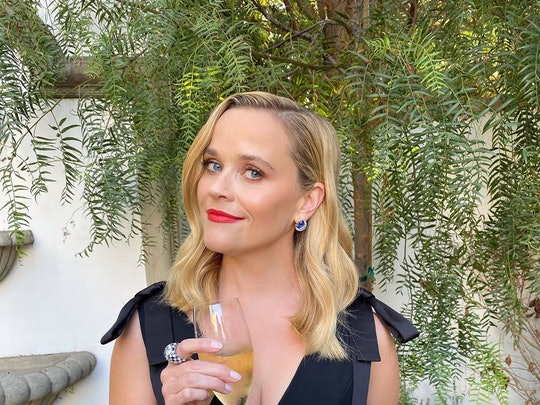 Reese Witherspoon's Emmys 2020 beauty look included a bright red lip