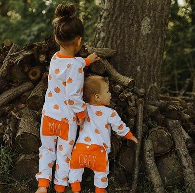 Fall Pumpkin Pajamas