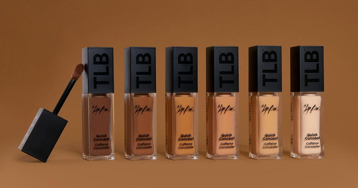 The Lip Bar's First-Ever Concealer Is Infused With Caffeine For A Brighter Complexion