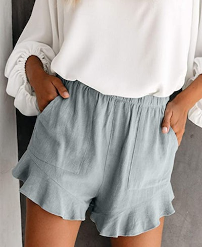 Paitluc Linen Shorts