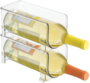 mDesign Wine Rack Storage