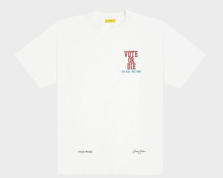 Pyer Moss Vote or Die T-Shirt
