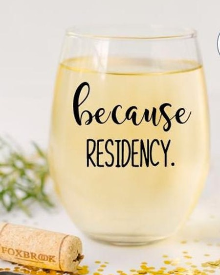 Because Residency Wine Glass