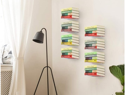 STORAGE MANIAC Floating Bookshelves