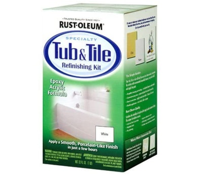 Rust-Oleum Tub & Tile Refinishing Kit