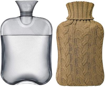 Samply Transparent Hot Water Bottle