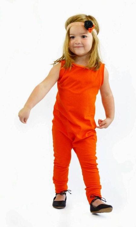 Orange Romper