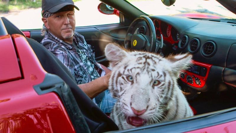 "Jeff Lowe in Netflix's ""Tiger King: Murder, Mayhem and Madness"""