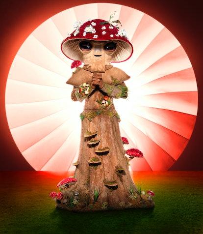 Mushroom from 'The Masked Singer' Season 4 via Fox's press site