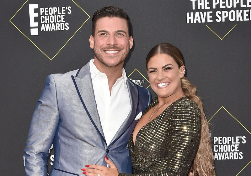 Jax Taylor and Brittany Cartwright at the People's Choice Awards