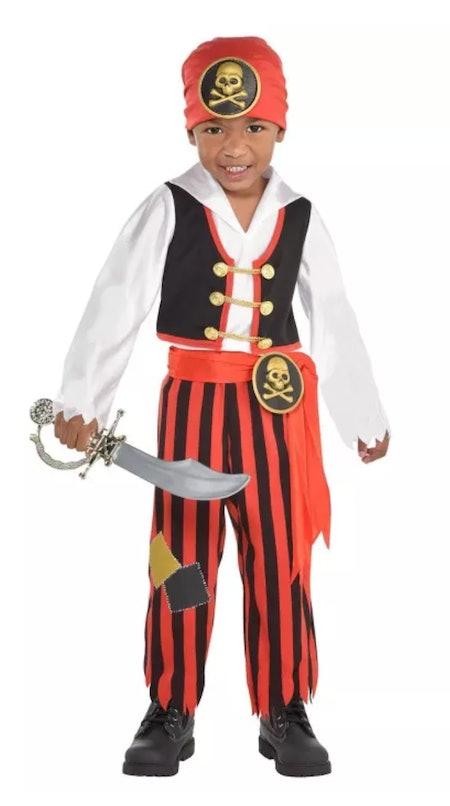 Kids Adventure Pirate Halloween Costume