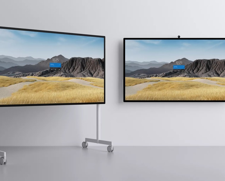 Microsoft's new 85-inch Surface Hub 2S is a $22K collaboration device.