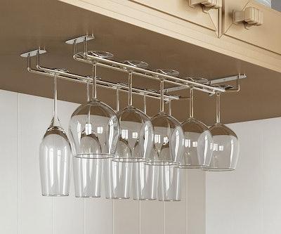 Wallniture Wine Glass Rack