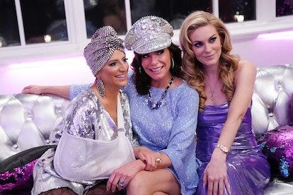 Dorinda Medley, Luann de Lesseps, and Leah McSweeney in 'RHONY' Season 12