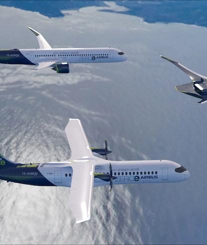 Airbus plane concept.