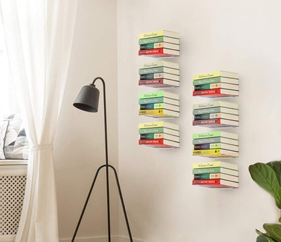 STORAGE MANIAC Floating Bookshelves