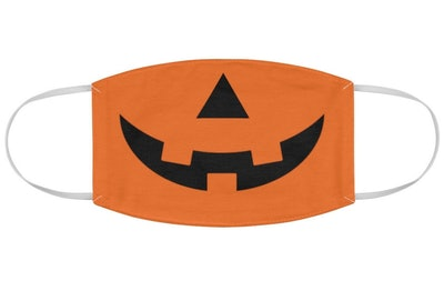 Jack-O-Lantern Cloth Face Mask