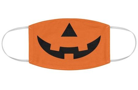 Jack-O-Lantern Cloth Face Mask