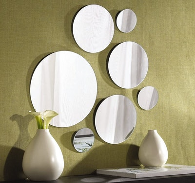 Elements Round Mirrors (7-Pack)